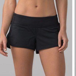 Lululemon Speed Shorts Black Size 6